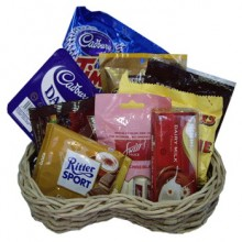 Assorted Chocolate Lover Basket6