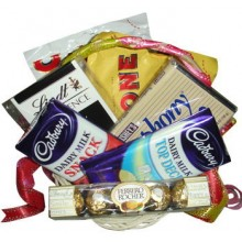 Assorted Chocolate Lover Basket8