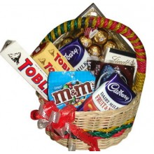 Assorted Chocolate Lover Basket12