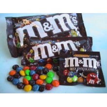 M&M 2 packs