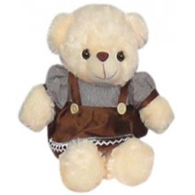 Bear w/ Brown Dress