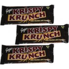 Goya: 3pcs Krispy Krunch Dark Chocolate w/ Crisped Rice
