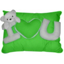 Wesley Pillow w/ I Love