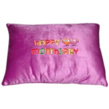 "Nap Pillow w/ ""Happy Monthsary"