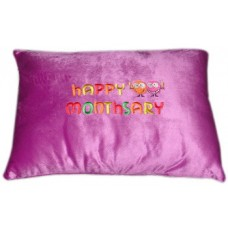 """Nap Pillow w/ """"Happy Monthsary"""