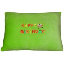 "Nap Pillow w/ ""Happy Birthday"