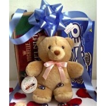Bear w/ cookies (Oreo/Oatmeal)+chocolate box (Hazel Nut)