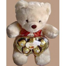 Bear w/ chocolates