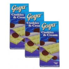 Goya: 3pcs Cookies & Cream