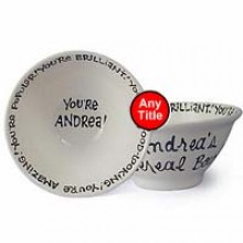 personalized bowl