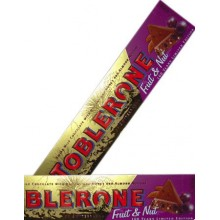 Toblerone Fruit & Nut Chocolate Bar