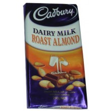 Cadbury Dairy Milk Roast Almond Chocolate