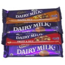 Cadbury Dairy Milk 4 Varieties
