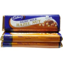 Cadbury Dairy Milk Hazel Nut. 3 Bars