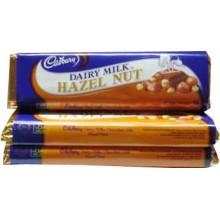 Cadbury Dairy Milk Hazel Nut. 3 Bars