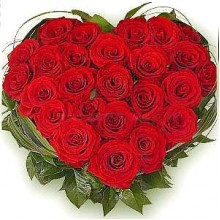 Love and Romance 24 Roses