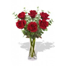 6 Long Stem Premium Rose Bouquet