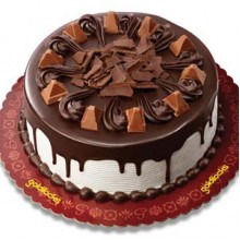 Royal Fudge Cake with Toblerone by Goldilocks