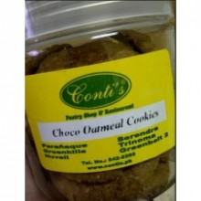 Choco Oatmeal Cookies by Contis Cake