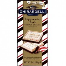 Ghirardelli: Peppermint Bark with Dark Chocolate 100g