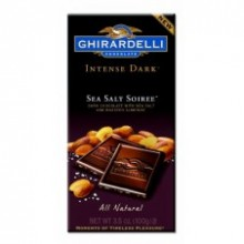 Ghirardelli Chocolate Intense Dark Sea Salt Soiree 100g