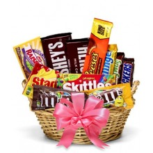 EASTER CANDY BASKET FOR GIRLS