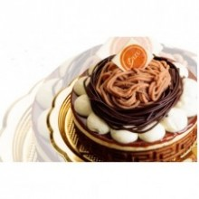 Chestnut Cake by Bizu Patisserie