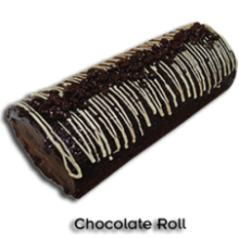 Chocolate Classic Log by Bake & Churn