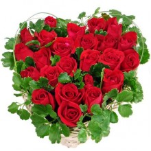 Sparkling Red Roses