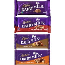 Cadbury Dairy Milk 4 Assorted Bars